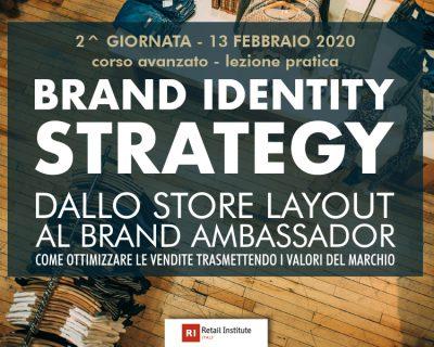 """Training Course """"Brand Identity Strategy: dallo store layout al Brand Ambassador"""" – Avanzato"""