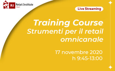 "Training Course ""Strumenti per il retail omnicanale"" – 17/11/2020"