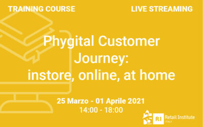 "Training Course ""Phygital Customer Journey: instore, online, at home"" – 25 marzo e 1 aprile 2021"