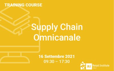"""Training Course """"Supply Chain Omnicanale"""" – 16 settembre 2021"""