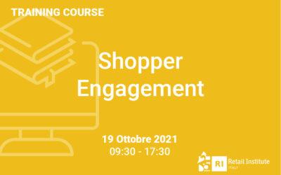 """Training Course """"Shopper Engagement"""" – 19 ottobre 2021"""